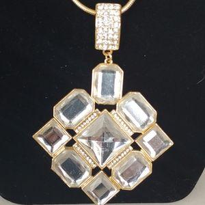 Big Crystal Pendant